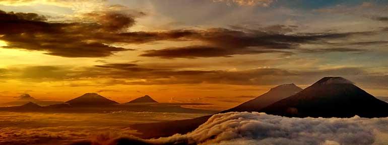 Pegunungan di Jawa Tengah