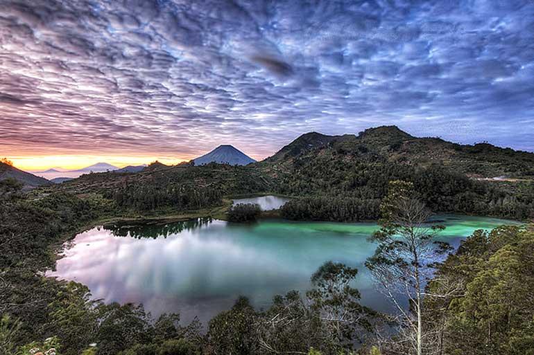 Wisata Dieng Jawa Tengah